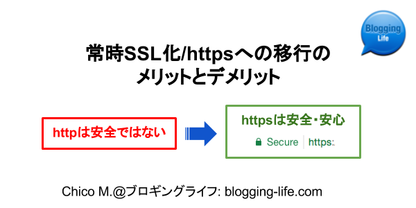 2017年版:常時SSL化のメリットとデメリット