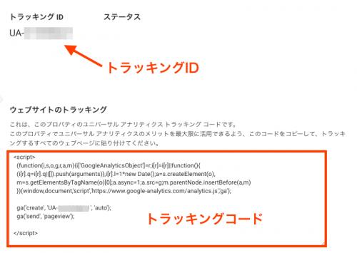 Google アナリティクス トラッキングコード