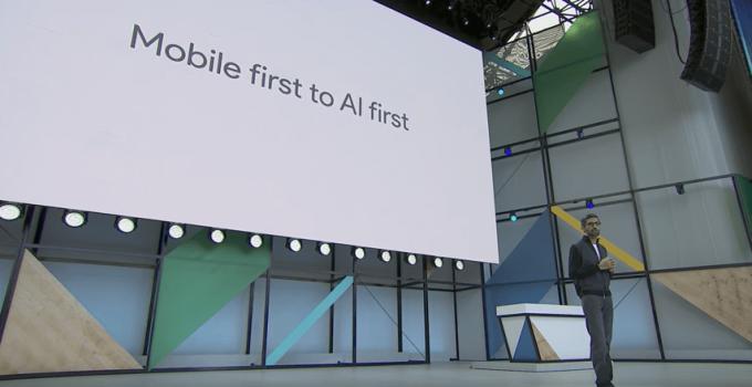 Google I/O 2017 Pichai氏 キーノートスピーチ モバイルファーストからAIファーストへ
