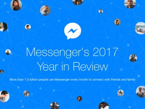 Facebook Messenger 2017年を振り返って