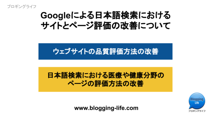 Googleによる日本語検索改善の取り組みについて