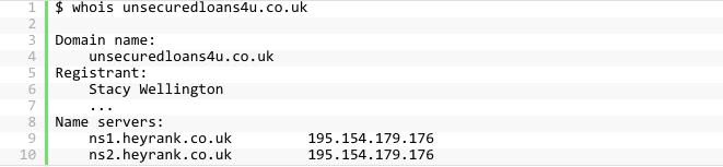 unsecuredloans4u.co.uk のネームサーバ情報
