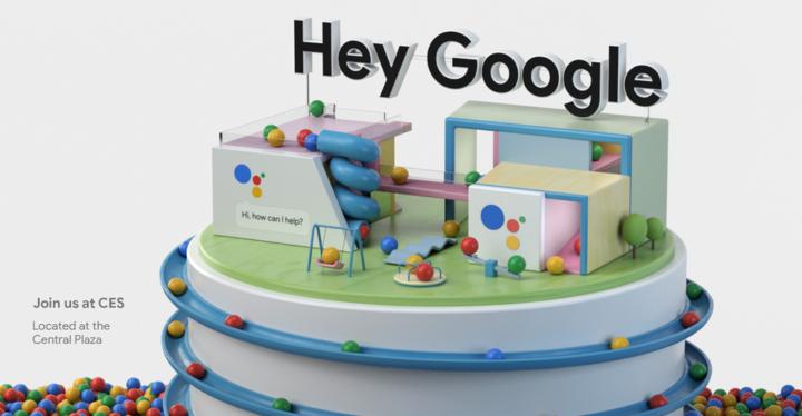 Google アシスタント 2018年CES バナー