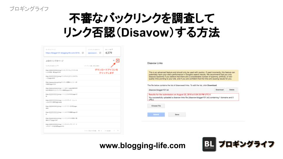不審なバックリンクを調査して否認(Disavow)する方法