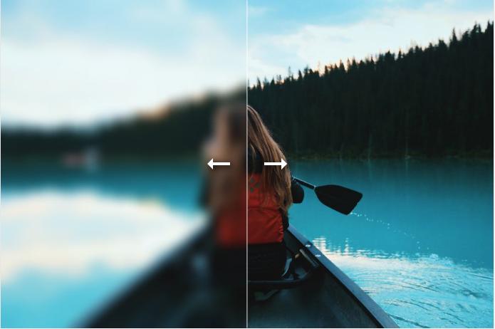AMP イメージスライダーの例