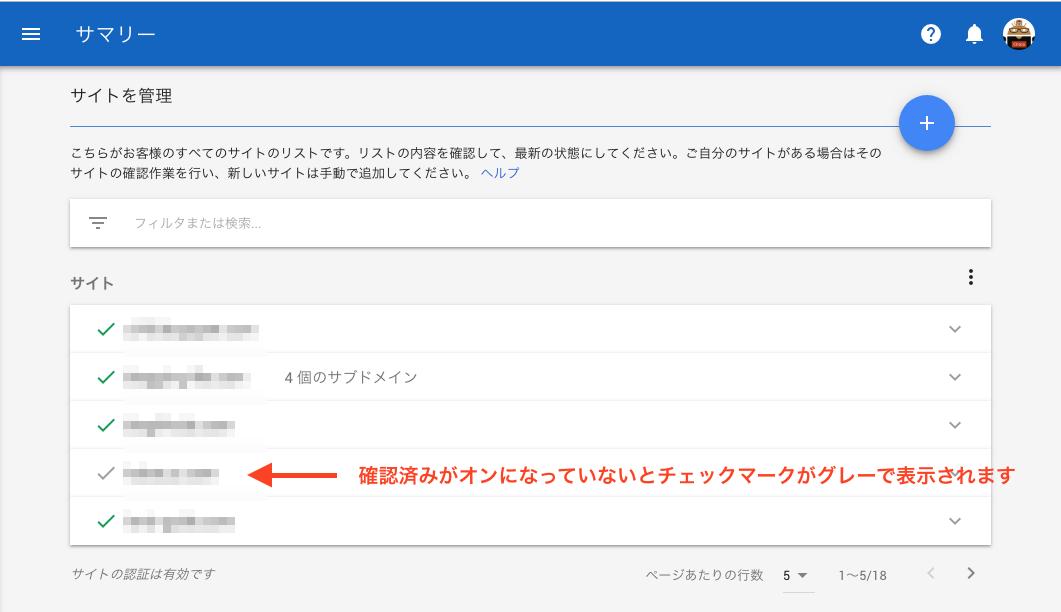 AdSense 確認済みサイトのリスト