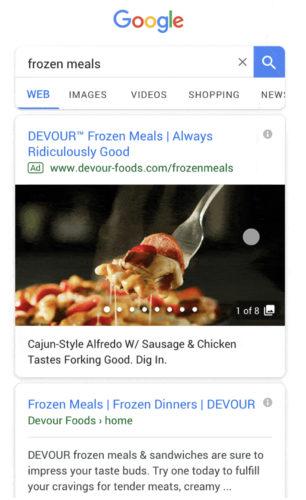 Google 広告新フォーマット ギャラリーAds