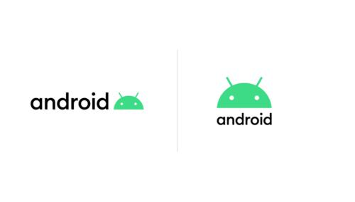 2019年8月に発表されたAndroidの新しいロゴ