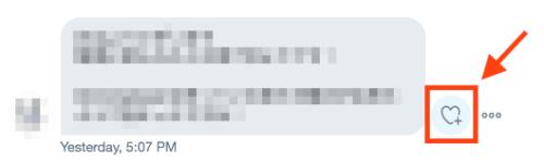 Twitter DMの絵文字リアクション用のアイコン