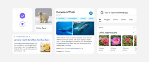 Google モバイル検索結果の新デザイン
