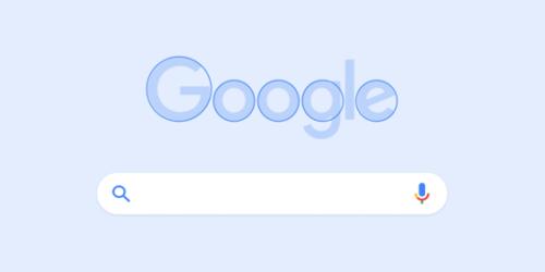 Googleらしい感じを持たせるデザイン